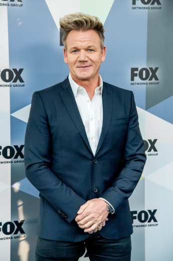 Gordon Ramsay attends the 2018 Fox Network Upfront.