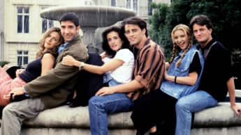 Cast of the series 'Friends'