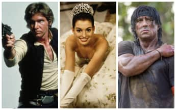 Harrison Ford, Sylvester Stallone and Anne Hathaway