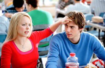 Rachel McAdams and Jonathan Bennett starred in 'Mean Girls' (2004)