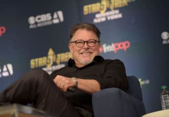 Jonathan Frakes used to host the popular show Beyond Belief: Fact or Fiction.