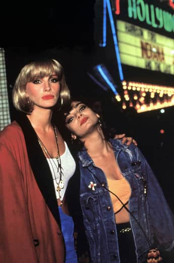 "Julia Roberts and Laura San Giacomo in ""Pretty Woman"""