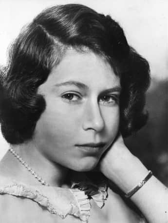 Queen Elizabeth II. as a teenager