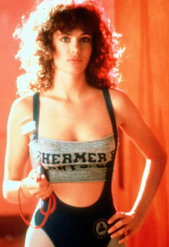 Kelly LeBrock in the eighties