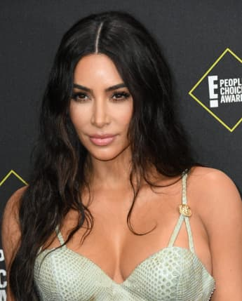 "Kim Kardashian Faces Backlash After Calling Black Face Mask On African American Model ""Nude"""
