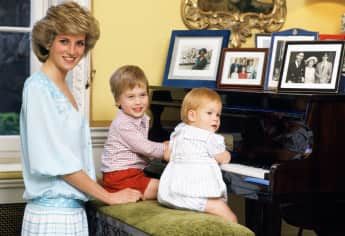 Princess Diana, Prince William, Prince Harry
