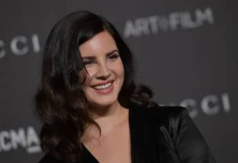 Lana Del Rey at the 2018 LACMA Art+Film Gala at the Los Angeles County Museum of Art in Los Angeles, California on November 3, 2018