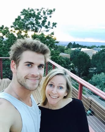 Liam Hemsworth and Leonie Hemsworth