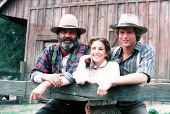 "Victor French, Melissa Gilbert, and Dean Butler portrayed real characters in ""Little House on the Prairie"""