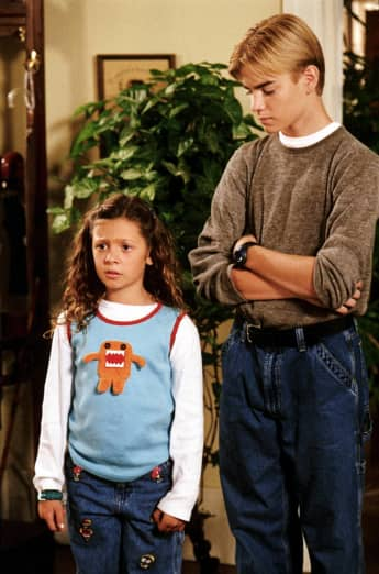 Mackenzie Rosman and David Gallagher in '7th Heaven'
