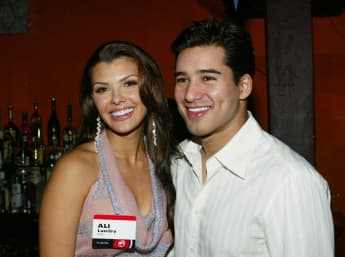 Mario Lopez and Ali Landry.