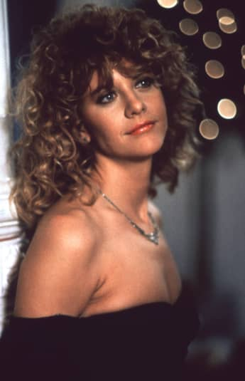 "Meg Ryan in ""Harry And Sally"" back in 1989"