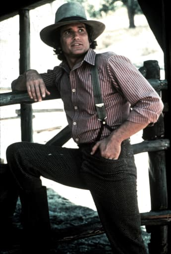"Michael Landon as ""Charles Ingalls"" in 'Little House on the Prairie'"
