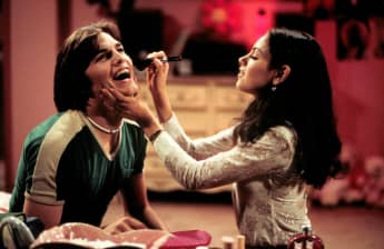 "Ashton Kutcher and Mila Kunis played ""Michael"" and ""Jackie"" in ""That '70s Show""."