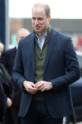 Prince William Expresses Concern For The Queen and Prince Charles During The COVID-19 Pandemic