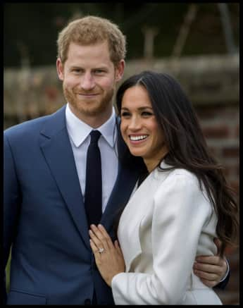 Prince Harry and Duchess Meghan 2017