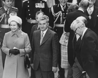 """Queen Elizabeth II Once """"Hid In A Bush"""" From A Controversial Dictator At Buckingham Palace"""