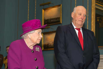 Queen Elizabeth II and Harald V, King of Norway: Related?