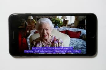 Queen Elizabeth II Makes Her Zoom Call Debut In New Video With Princess Anne - See It Here