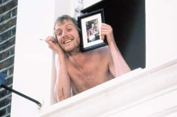 """Rhys Ifans as """"Spike"""" in Notting Hill."""