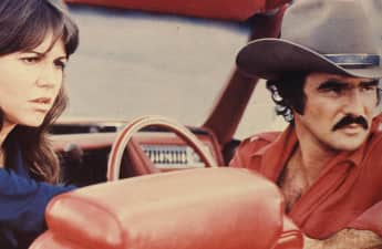 "Sally Field and Burt Reynolds in ""Smokey and the Bandit"""