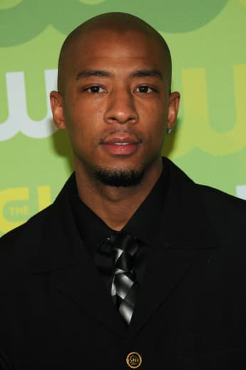 Antwon Tanner arrives at the CW Network's Upfront at Lincoln Center on May 13, 2008 in New York City