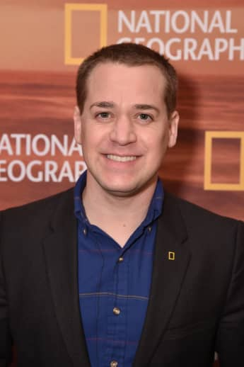 "T.R. Knight of ""Genius: Picasso"" attends National Geographic's FURTHER Front on April 18, 2018 in New York City."