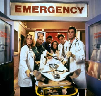 The cast of 'ER'
