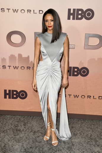 """Thandie Newton attends the Premiere of HBO's """"Westworld"""" Season 3."""