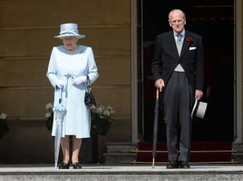 The Queen & Prince Philip Spotted Exiting Balmoral For Sandringham