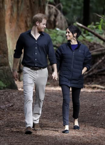This Is How Prince Harry & Meghan Markle Are Celebrating Spending Their Second Wedding Anniversary