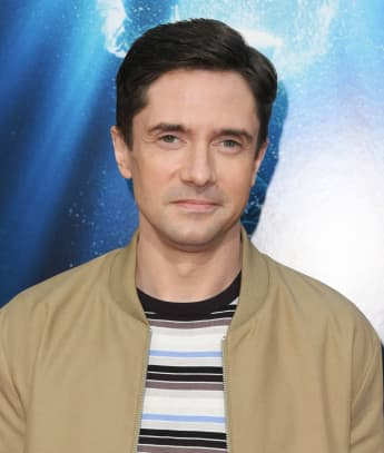 "Topher Grace attends the premiere of 20th Century Fox's ""Breakthrough"" at Westwood Regency Theater on April 11, 2019 in Los Angeles, California."