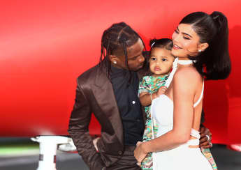 Travis Scott Plays Basketball With Daughter Stormi - Watch The Adorable Video Here!