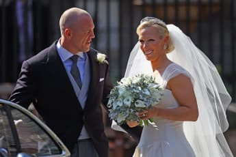 Why Mike & Zara Tindall's Royal Wedding Was Opposed By One Family Member