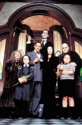 'The Addams Family' cast 1991.