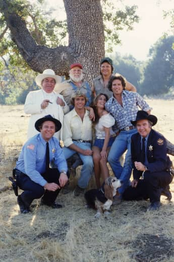 "The cast of ""The Dukes of Hazzard"""