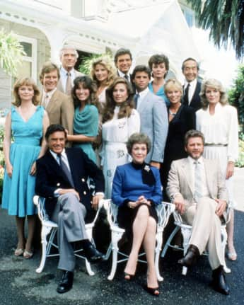 "The ""Falcon Crest"" stars today"