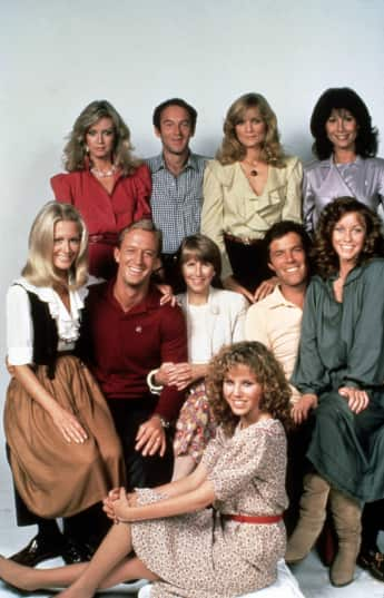 "The cast of ""Knots Landing"""