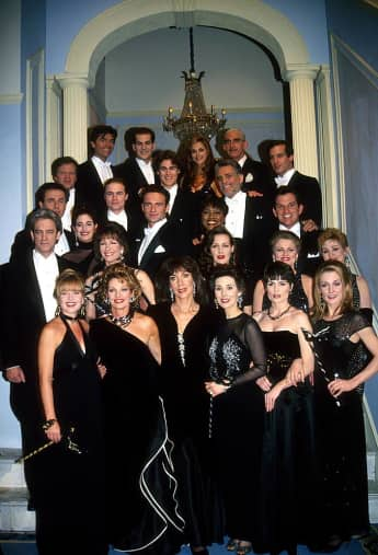 """The cast of """"Another World"""""""