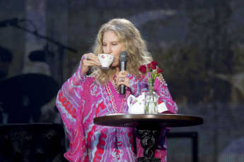 Barbra Streisand in Hyde Park on July 7th, 2019