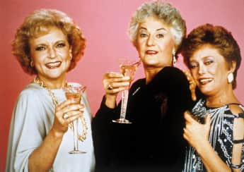 Betty White, Bea Arthur and Rue McClanahan
