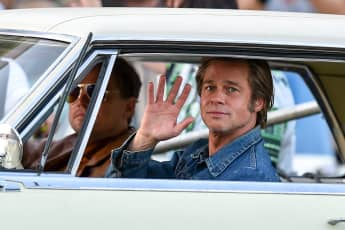 Brad Pitt and Leonardo DiCaprio in 'Once Upon A Time In Hollywood'