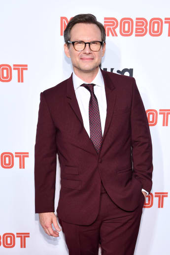 "Christian Slater attends the ""Mr. Robot"" Season 4 Premiere on October 01, 2019"