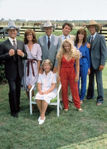 "The cast of ""Dallas"""