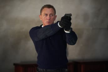 "No Time to Die: Daniel Craig as ""James Bond""."