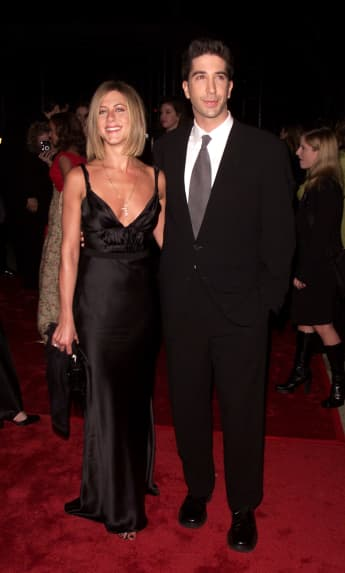 David Schwimmer welcomes Jennifer Aniston to Instagram in a rare post. See it here!
