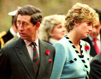 "Princess Diana: All Charles Knew About Love Was ""Shaking Hands""."