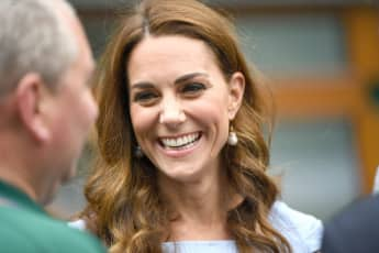Duchess Catherine attending the 2019 Wimbledon Finals