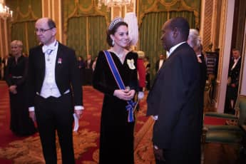 Duchess Catherine Diplomatic Corps Reception