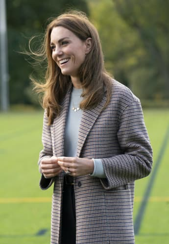 Duchess Kate Makes Surprise Visit To Support University Students